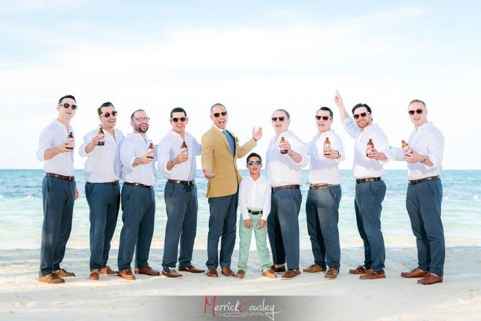 Bohemian beach wedding in Jamaica by TDC