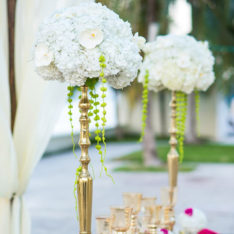 Tall Candelabra Centerpiece